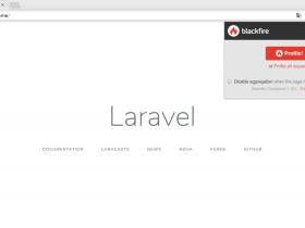 在Laravel Homestead中使用Blackfire Profiler对应用性能进行分析