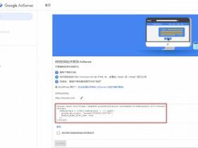 WordPress网站如何加入AdSense自动广告代码