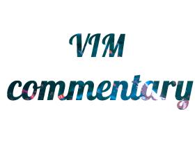 Vim插件之vim-commentary