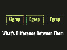 Linux中grep,egrep和fgrep的区别